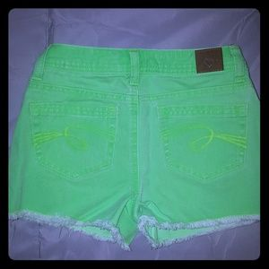 Justice jean shorts. Size 10